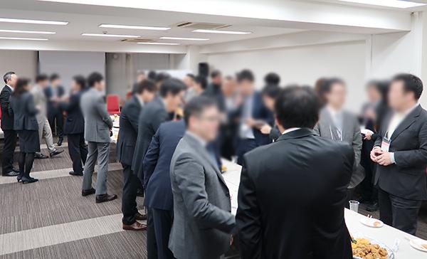 第17回 事務所を拡大したい士業のための 新規獲得事例公開セミナー&士業交流会 in 大阪 交流会の様子